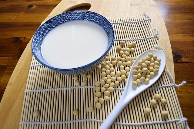 le soja est une alternative au lait de vache