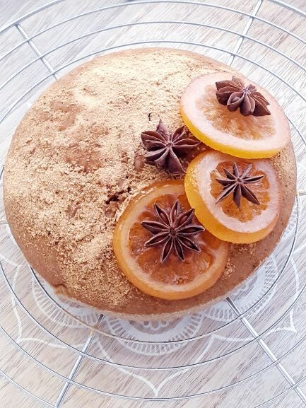 gâteau à l'orange sans gluten vegan